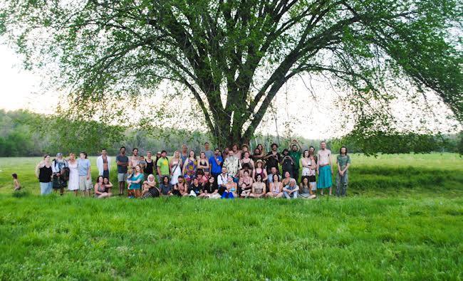 EW Under Tree