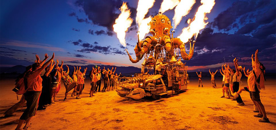 burning man image