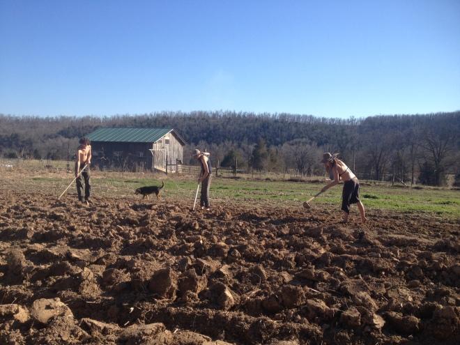 three farmers east wind