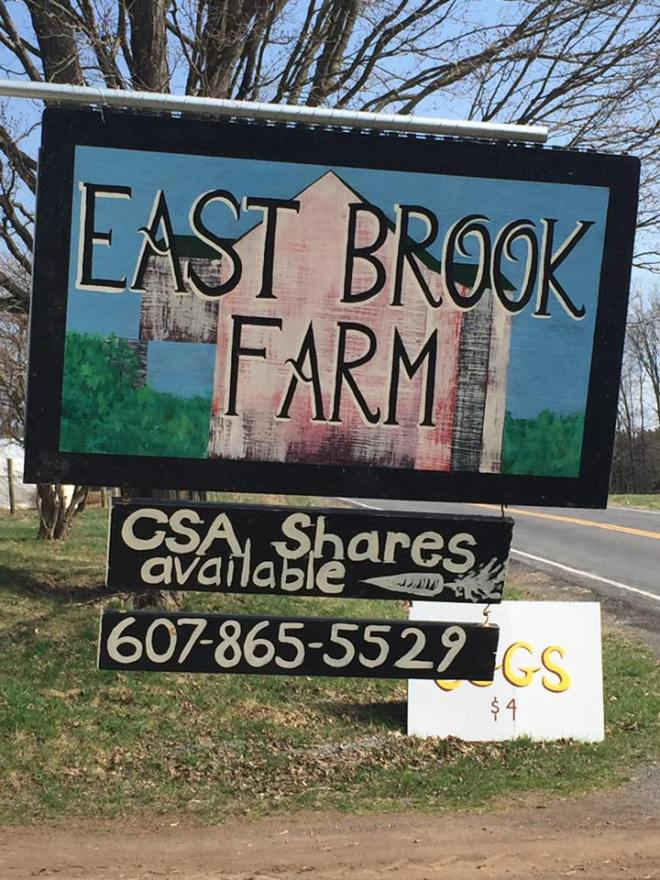 EastBrook Sign