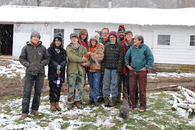 EBCF Group Photo in snow